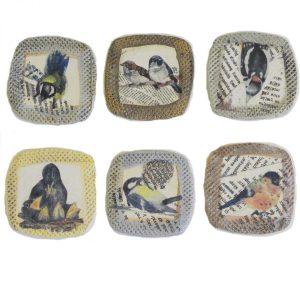 Kühlschrankmagnete Singvögel